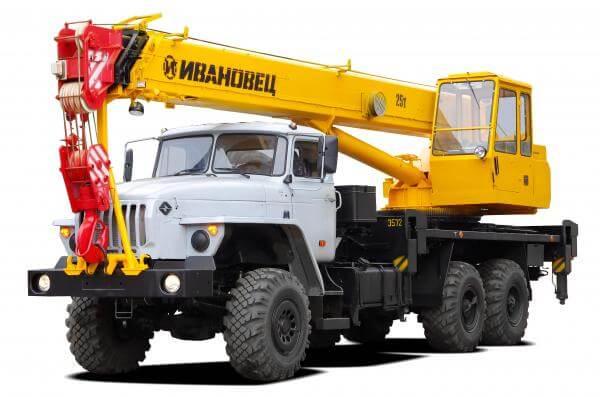 Ивановец КС 45717 25 тонн