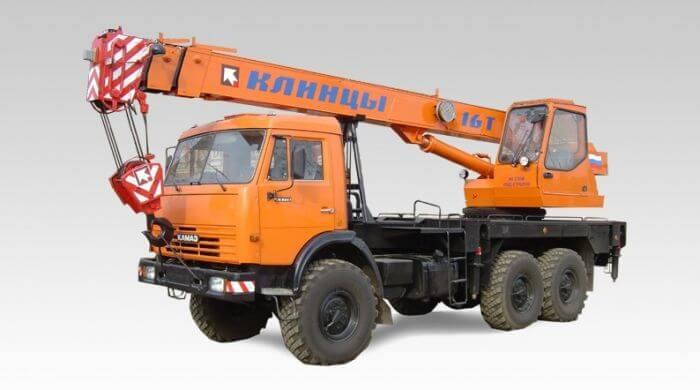 Клинцы КС-35719-3 16 тонн